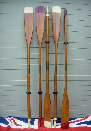 Antique Rowing Oars