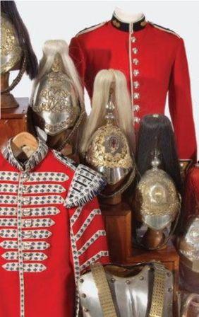 Antique British Military Uniforms